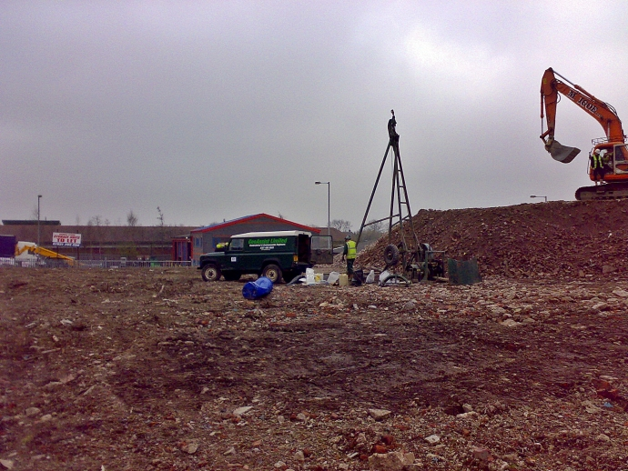 Shell & Auger Brownfield Site